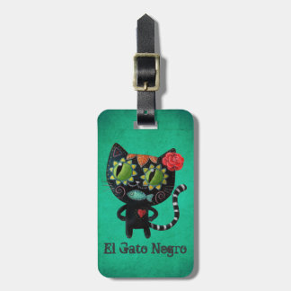 Black Cat of The Dead Tags For Bags