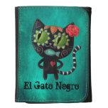 Black Cat of The Dead Women's Wallet