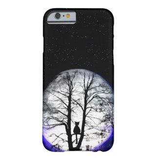 black cat on tree iPhone 6 case