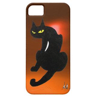 BLACK CAT orange iPhone SE/5/5s Case