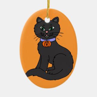 Black Cat Christmas Tree Ornaments