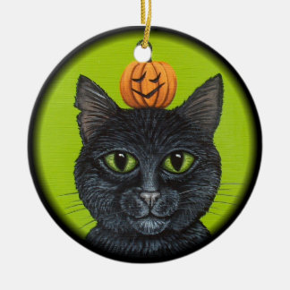 Black Cat Ornament