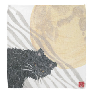 Black Cat, Persian Cat, Super Moon Bandana