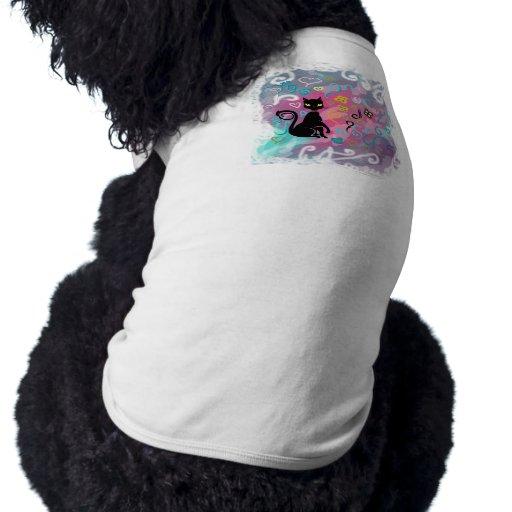 Black Cat Pet Shirt