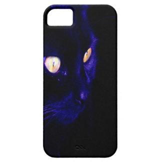 Black Cat Photograph, Halloween Eyes iPhone SE/5/5s Case