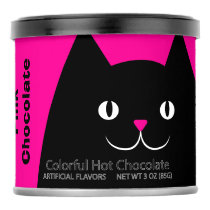 Black Cat Pink Chocolate Powdered Drink Mix