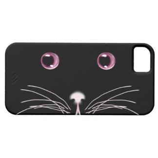 Black Cat Pink Eyes Case-Mate Case