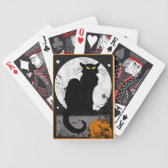 'Black Cat' Playing Cards