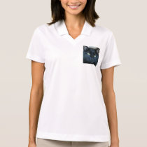 Black Cat Polo Shirt