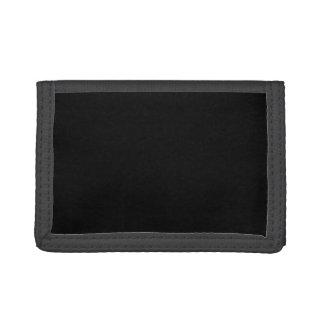 Black Cat Portrait Sketch Trifold Wallet