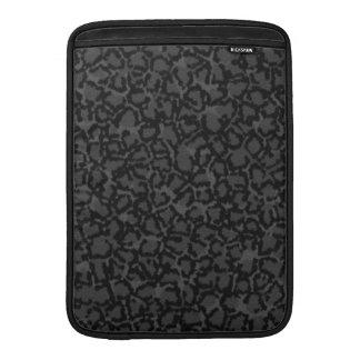 Black Cat Print MacBook Air Sleeve