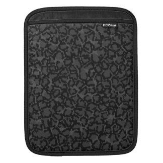 Black Cat Print Sleeve For iPads