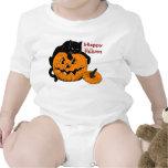 Black Cat Pumpkin Bodysuit