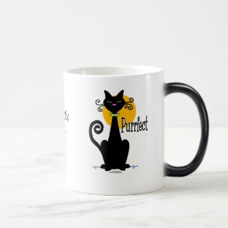 Black Cat purrfect Magic Mug
