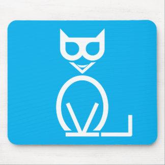 Black Cat Puzzle Mousepad