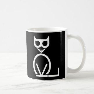 Black Cat Puzzle Mug