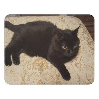 Black Cat Roxie Door Sign