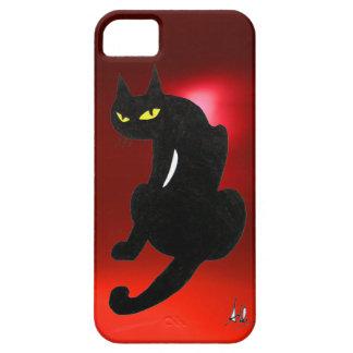 BLACK CAT ruby iPhone SE/5/5s Case