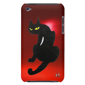 BLACK CAT ruby iPod Touch Cover