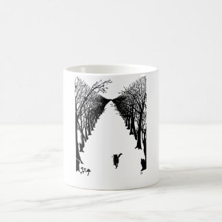 Black cat, Rudyard Kipling Coffee Mug