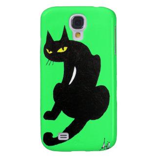 BLACK CAT SAMSUNG GALAXY S4 COVER