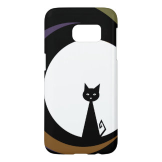+{ Black Cat }+ Samsung Galaxy S7 Case