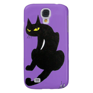 BLACK CAT SAMSUNG S4 CASE