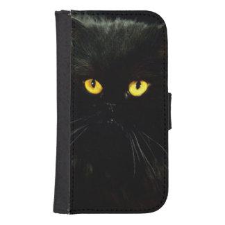 Black Cat Samsung S4 Wallet Case