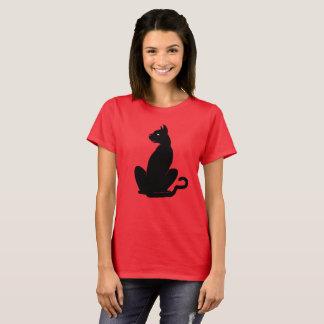 BLACK CAT SASSY by Slipperywindow T-Shirt