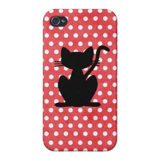 Black Cat Silhouette Iphone Case