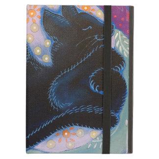 Black Cat. Sleeping. iPad Folio Cases