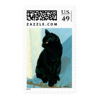 Black Cat Stamps