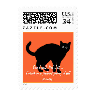 Black Cat Stamps
