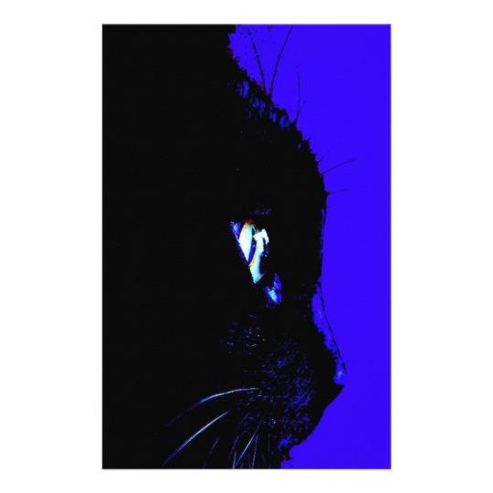 Black Cat Stationery