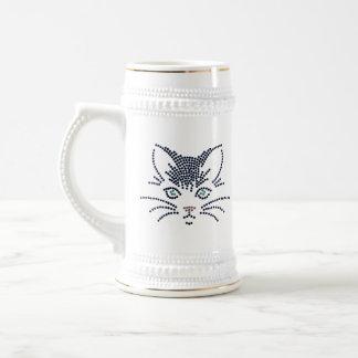Black Cat Stein Mug