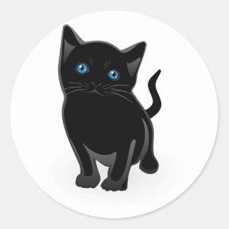 Black Cat Stickers