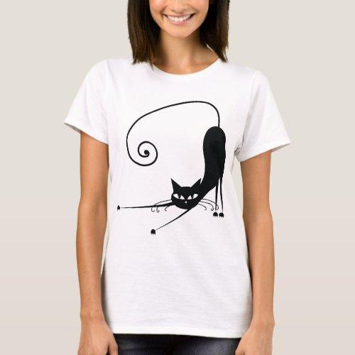 Black Cat T_Shirt