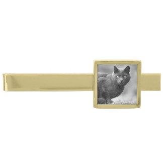 Black Cat tie bar