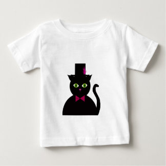 Black Cat Top Hat Pink Bow