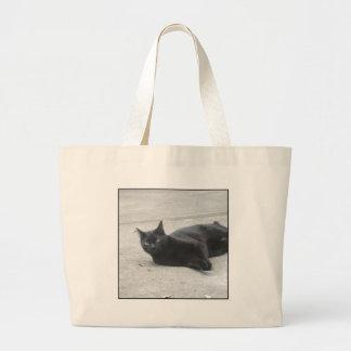 Black  Cat Tote Bags