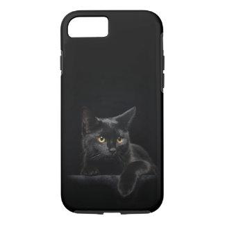 Black Cat Tough iPhone 7 Case