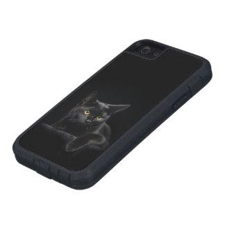 Black Cat Tough Xtreme iPhone SE Case