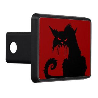 Black Cat Trailer Hitch Cover