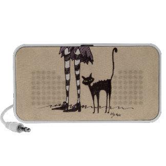 Black Cat Travelling Speaker