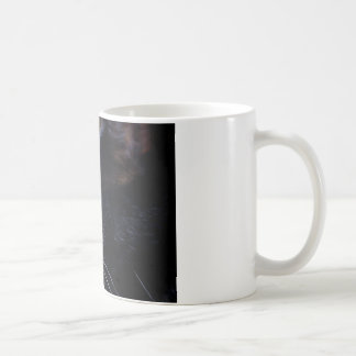 Black Cat Under a Full Moon ~ Coffee Mug