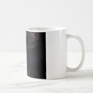 Black Cat Under a Full Moon ~ Coffee Mugs