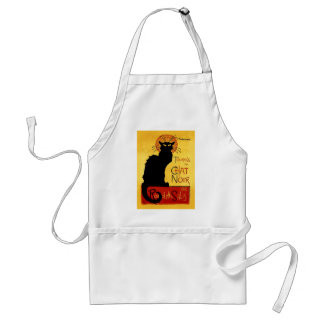Black Cat Vintage Tournée du Chat Noir, Theophile Adult Apron