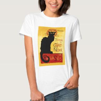 Black Cat Vintage Tournée du Chat Noir, Theophile Shirt