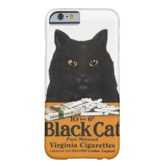 Black Cat Virginia Cigarettes Advert Iphone 6 Case