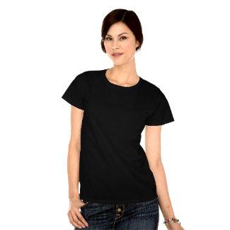 Black Cat Watching You T-Shirt